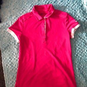 Ladies Nike Small Golf Shirt